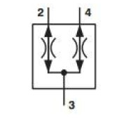 ARGO-HYTOS SFD2F-D3/L FLOW DIVIDER/COMBINER